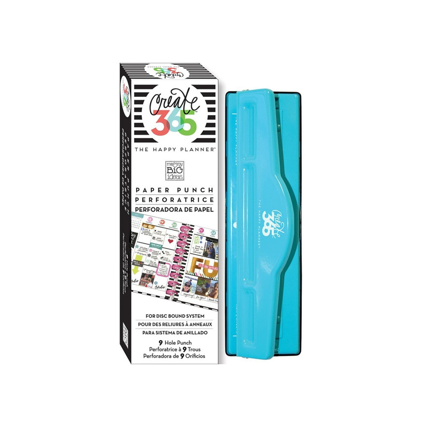 Perforatrice pour Happy Planner Classic 9 trous Create 365