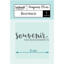 Tampon Clear Souvenir