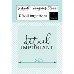 Tampon Clear Détail Important