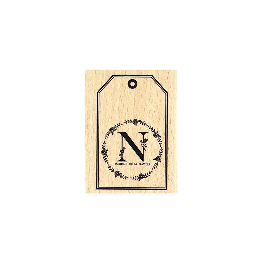 Tampon bois DOUCEUR DE LA NATURE par Florilèges Design. Scrapbooking et loisirs créatifs. Livraison rapide et cadeau dans cha...