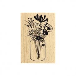 Tampon bois GRAND BOUQUET par Florilèges Design. Scrapbooking et loisirs créatifs. Livraison rapide et cadeau dans chaque com...