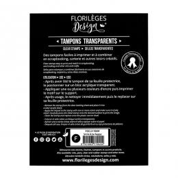 PROMO de -50% sur Tampon clear SMILE & BE HAPPY-Capsule Mars 2017 Florilèges Design