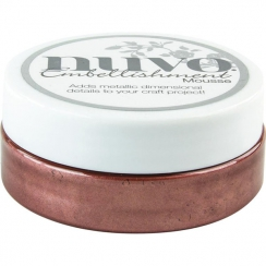Pâte de texture Nuvo Embellishment Mousse BURNISHED BRONZE