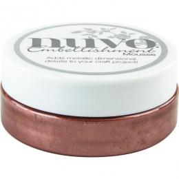 Pâte de texture Nuvo Embellishment Mousse BURNISHED BRONZE par Tonic Studios. Scrapbooking et loisirs créatifs. Livraison rap...