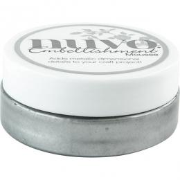 Pâte de texture Nuvo Embellishment Mousse GUNMETAL GREY
