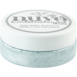 Pâte de texture Nuvo Embellishment Mousse POWDER BLUE
