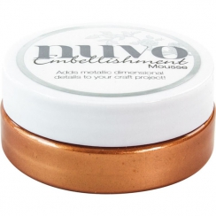 Pâte de texture Nuvo Embellishment Mousse FRESH COPPER