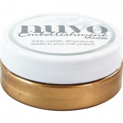 Pâte de texture Nuvo Embellishment Mousse COSMIC BROWN