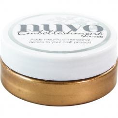 Pâte de texture Nuvo Embellishment Mousse COSMIC BROWN