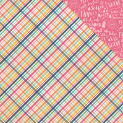 Papier imprimé Summer Dreams SUMMER LOVIN PLAID