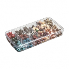 Parfait pour créer : Petite boite de rangement pour embellissements à 18 compartiments par Art Bin. Livraison rapide et cadea...