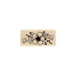 Tampon bois HARMONIE FLEURIE par Florilèges Design. Scrapbooking et loisirs créatifs. Livraison rapide et cadeau dans chaque ...