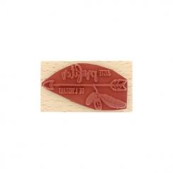 Tampon bois PROFITER DE L'INSTANT
