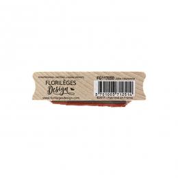 Tampon bois JOLIE COURONNE  par Florilèges Design. Scrapbooking et loisirs créatifs. Livraison rapide et cadeau dans chaque c...