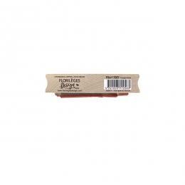 Tampon bois TRIANGLE FLORAL par Florilèges Design. Scrapbooking et loisirs créatifs. Livraison rapide et cadeau dans chaque c...