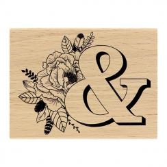 Tampon bois ESPERLUETTE EMBELLIE par Florilèges Design. Scrapbooking et loisirs créatifs. Livraison rapide et cadeau dans cha...