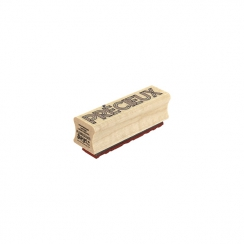 Tampon bois PRÉCIEUX 3D