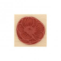 Tampon bois FLEUR ESQUISSÉE par Florilèges Design. Scrapbooking et loisirs créatifs. Livraison rapide et cadeau dans chaque c...