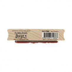 Tampon bois FLEUR JOURNALING par Florilèges Design. Scrapbooking et loisirs créatifs. Livraison rapide et cadeau dans chaque ...