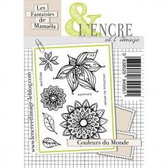 Tampons clear COULEURS DU MONDE par L'Encre et l'Image. Scrapbooking et loisirs créatifs. Livraison rapide et cadeau dans cha...
