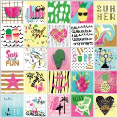 Stickers pour planner SUMMER