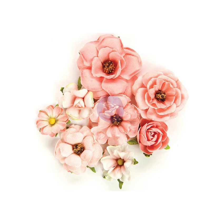 Fleurs en papier Rose Quartz ROSA VERONA
