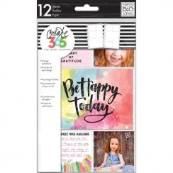Pochettes compartimentées pour Happy Planner Mini Create 365