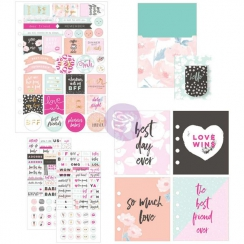 Set d'embellissements pour planner FRIENDSHIP AND LOVE