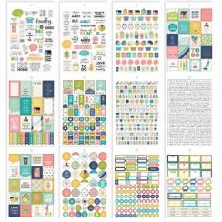 Carnet de stickers pour planner Carpe Diem HOME