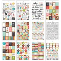 Carnet de stickers pour planner Carpe Diem RECIPE