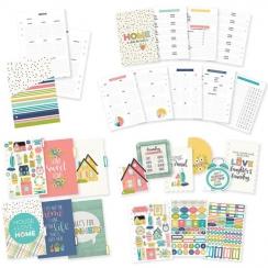 Inserts, intercalaires et stickers pour planner Carpe Diem HOME
