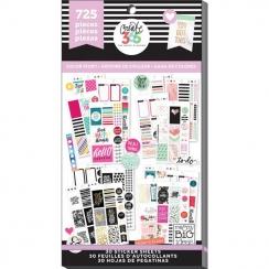 Carnet de stickers Create 365 COLOR STORY
