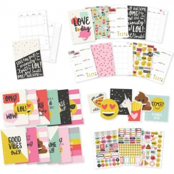 PROMO de -50% sur Insert 12 mois pour planner Carpe Diem EMOJI LOVE Simple Stories