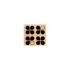 PROMO de -75% sur Tampon bois QUATRO Florilèges Design