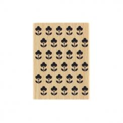 Tampon bois PETITES FLEURETTES par Florilèges Design. Scrapbooking et loisirs créatifs. Livraison rapide et cadeau dans chaqu...