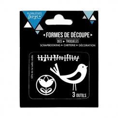 Outils de découpe TOUCHE SCANDI par Florilèges Design. Scrapbooking et loisirs créatifs. Livraison rapide et cadeau dans chaq...