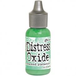Recharge Distress OXIDE CRACKED PISTACHIO par Ranger. Scrapbooking et loisirs créatifs. Livraison rapide et cadeau dans chaqu...