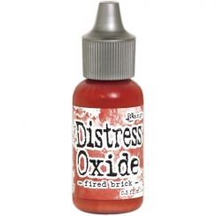 Recharge Distress OXIDE FIRED BRICK par Ranger. Scrapbooking et loisirs créatifs. Livraison rapide et cadeau dans chaque comm...