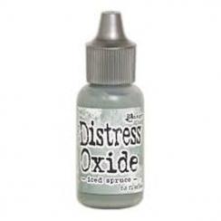 Recharge Distress OXIDE ICED SPRUCE par Ranger. Scrapbooking et loisirs créatifs. Livraison rapide et cadeau dans chaque comm...