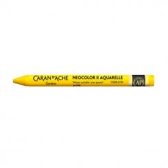 Pastel aquarellable Neocolor II JAUNE par Caran d'Ache. Scrapbooking et loisirs créatifs. Livraison rapide et cadeau dans cha...