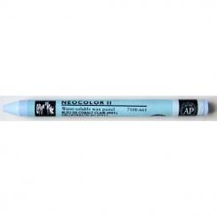 Pastel aquarellable Neocolor II BLEU COBALT CLAIR par Caran d'Ache. Scrapbooking et loisirs créatifs. Livraison rapide et cad...