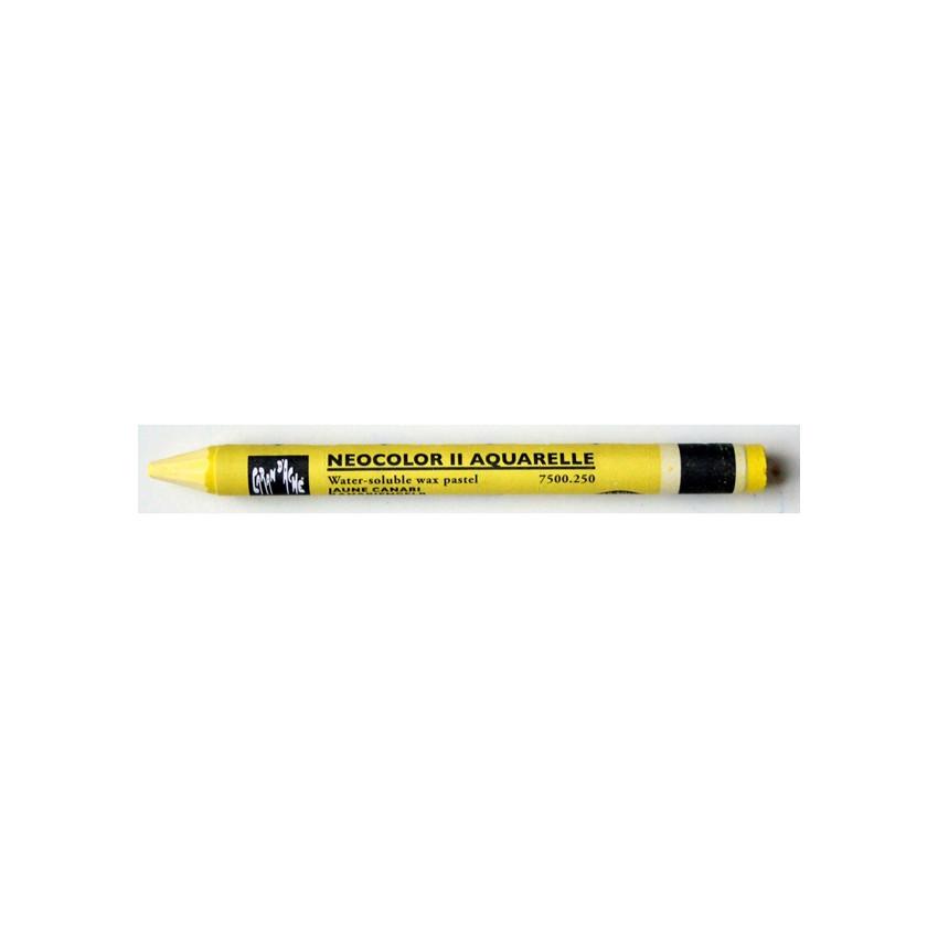 Parfait pour créer : Pastel aquarellable Neocolor II JAUNE CANARI par Caran d'Ache. Livraison rapide et cadeau dans chaque co...