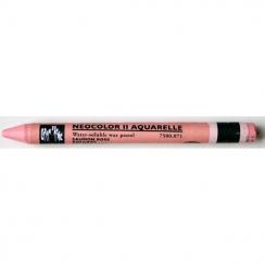 Pastel aquarellable Neocolor II SAUMON ROSE par Caran d'Ache. Scrapbooking et loisirs créatifs. Livraison rapide et cadeau da...