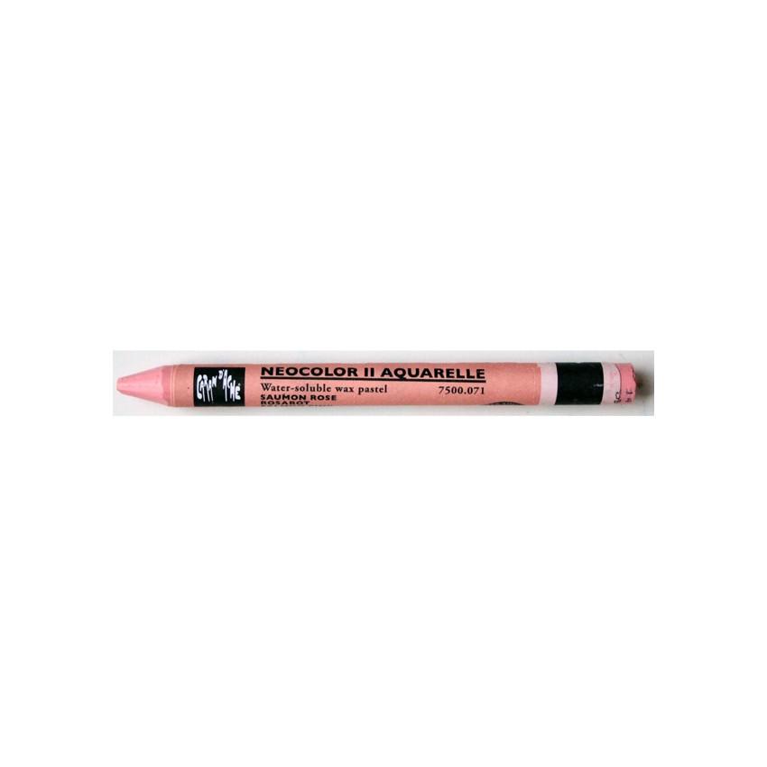 Pastel aquarellable Neocolor II SAUMON ROSE