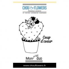 Tampons non montés COUP D'CŒUR par Chou and Flowers. Scrapbooking et loisirs créatifs. Livraison rapide et cadeau dans chaque...