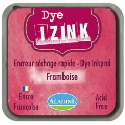 Encreur à séchage rapide IZINK DYE Bordeaux FRAMBOISE par Aladine. Scrapbooking et loisirs créatifs. Livraison rapide et cade...