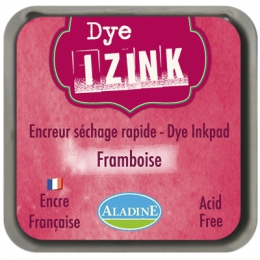Encreur à séchage rapide  IZINK DYE Bordeaux FRAMBOISE