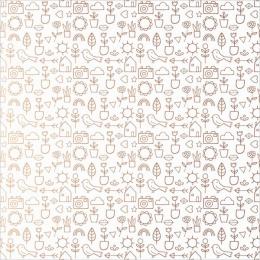 Calque imprimé motifs cuivrés Dream On SPRING ICONS