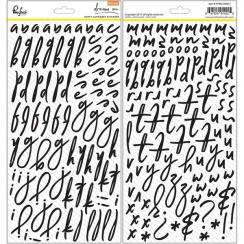 Alphabet stickers puffy DREAM ON