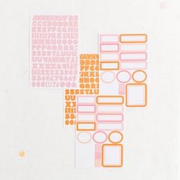 Stickers Etiquettes et Alphabet MACEDONIA